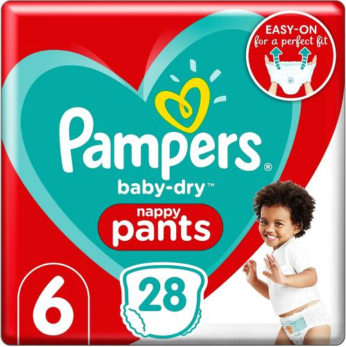 Baby-Dry Pants Size 6
