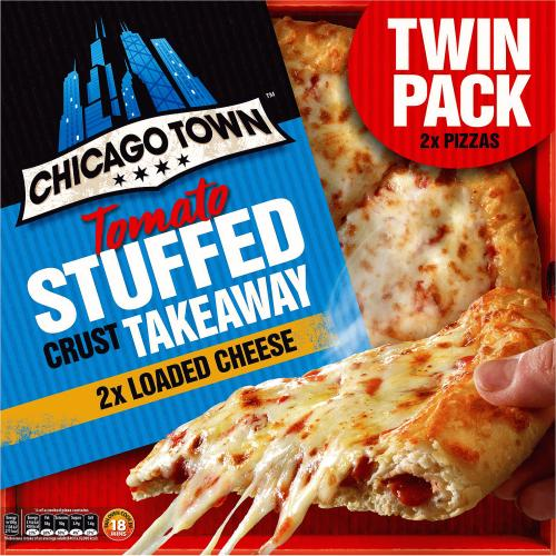 Takeaway Large Stuffed Crust Loaded Cheese Pizza