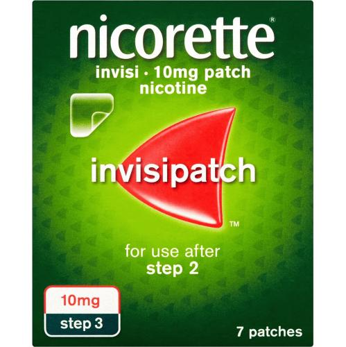 Nicorette Invisible Patch 10mg 7S