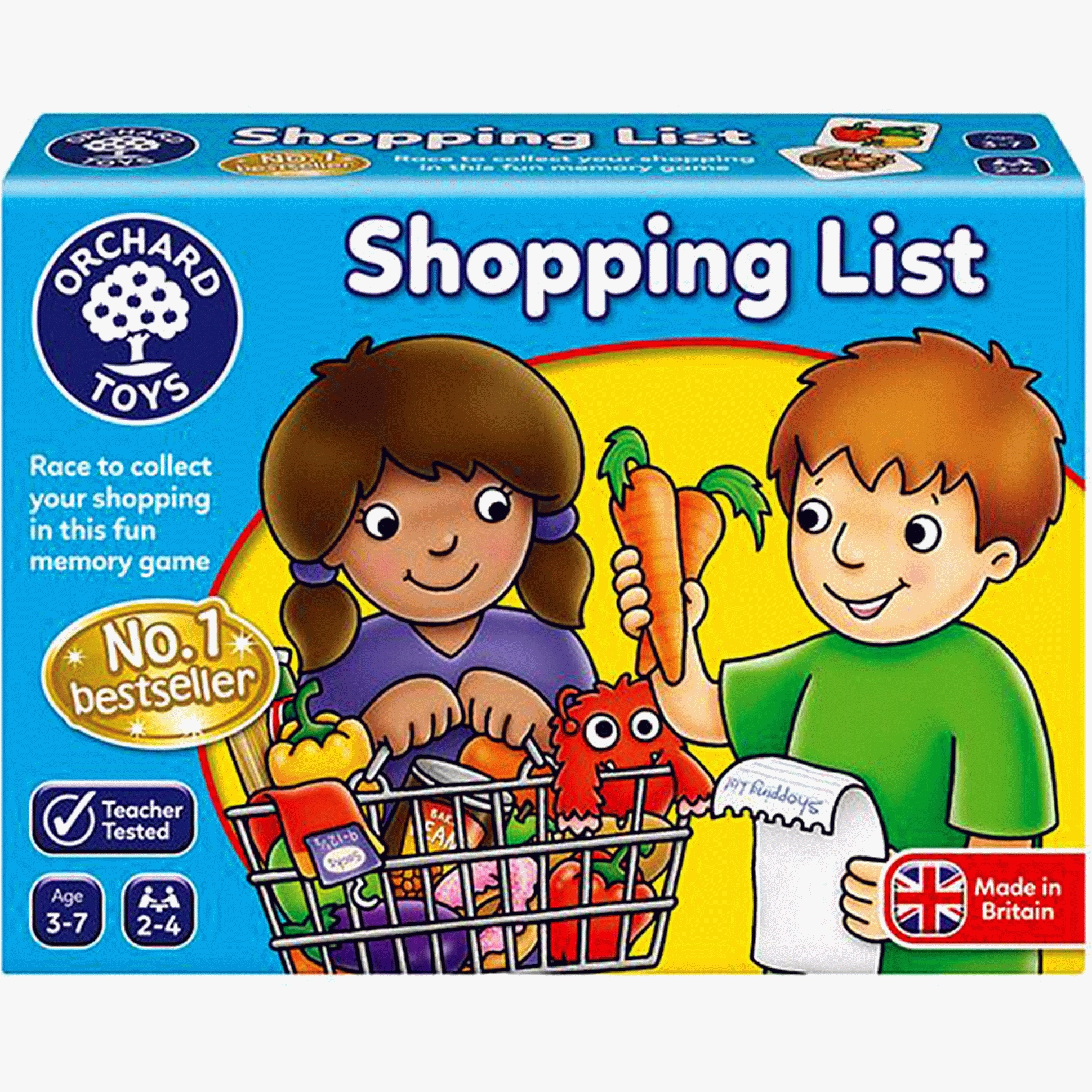 Orchard Toys Shopping List Memory Game 3yrs+