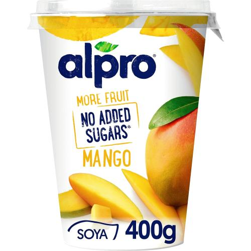 Alpro Soya No Added Sugars Mango 400g