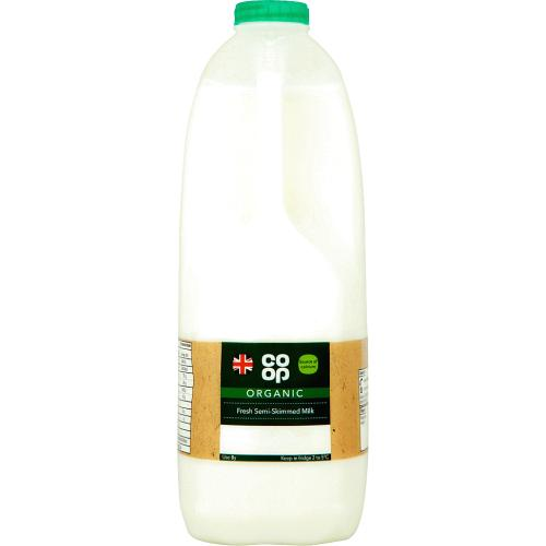 Organic Fresh Semi-Skimmed Milk 4Pints