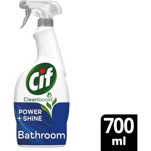 Cif Power & Shine Bathroom Spray (700ml)