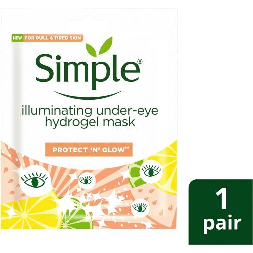 Simple Kind To Skin Brightening Under Eye Skin Face 2Pc