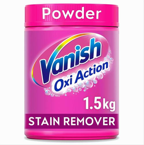 Vanish Oxi Action Stain Remover Powder 1.5 Kilograms 1.5kg