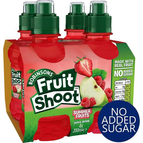 Fruit Shoot Summer Fruits Kids Juice Drink 200ml