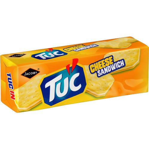 TUC Cheese Sandwich Biscuits