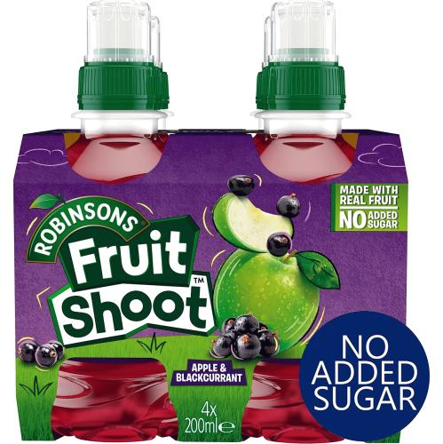 Fruit Shoot Apple & Blackcurrant Kids Juice Drink 200ml