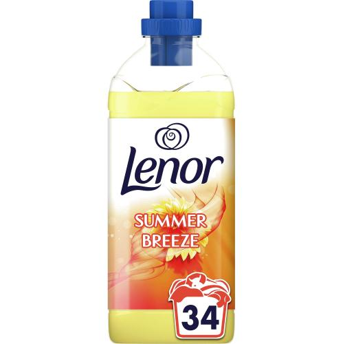 Lenor Fabric Conditioner Summer Breeze Scent 34 Washes 1.19 litre