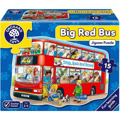 Big Bus Floor Puzzle 2yrs+