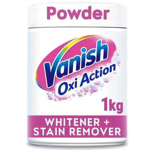 Vanish Oxi Action Powder Crystal White 1kg