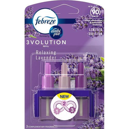 Febreze 3Volution Air Freshener Lavender Plug Refill 20ml