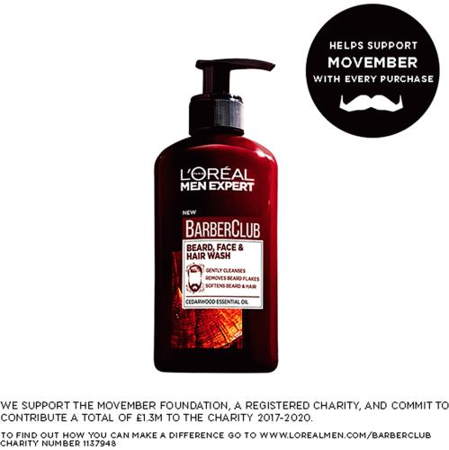 L'Oreal Men Expert Barber Club Beard Face Wash 200ml