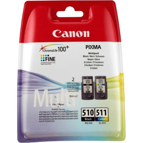 Canon PG-510/CL-511 Multi Pack 2 per pack