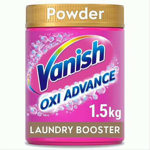 Vanish Oxi Action Fabric Stain Remover Powder - Colours & Whites 1.5 kg 1.5kg