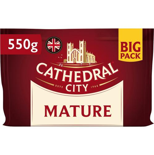 Cathedral City Mature Cheddar Cheese 550g
