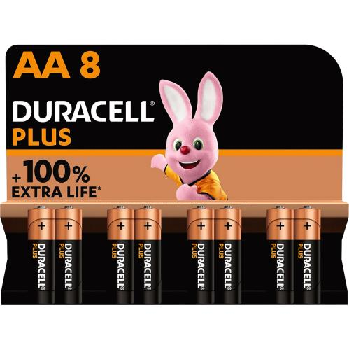 Duracell AA 8 Pack 8 Pack