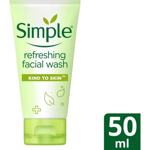 Simple Kind to Skin Refreshing Facial Wash 50ml