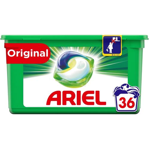 Ariel All In 1 Pods Original 36 Washes 36 per pack