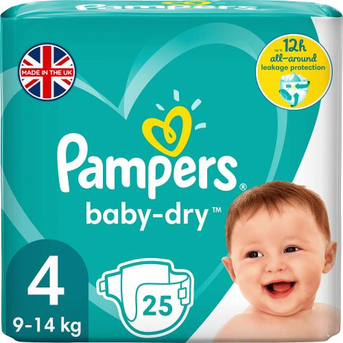 Baby-Dry 9-14kg Size 4