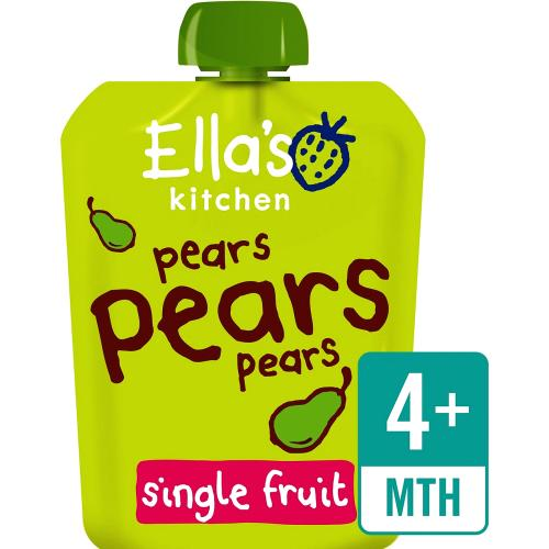 Organic Pears First Tastes Baby Pouch 4+ Months