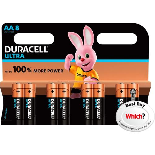 Duracell Ultra AA 8 Pack 8 Pack