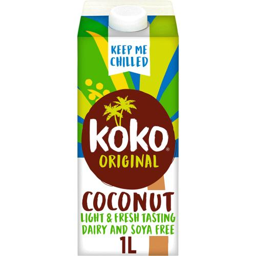 Koko Dairy Free Original Plus Calcium Drink Alternative 1 L 1l
