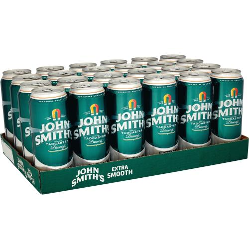 John Smith's Extra Smooth Ale 4x Cans 4 x 440ml