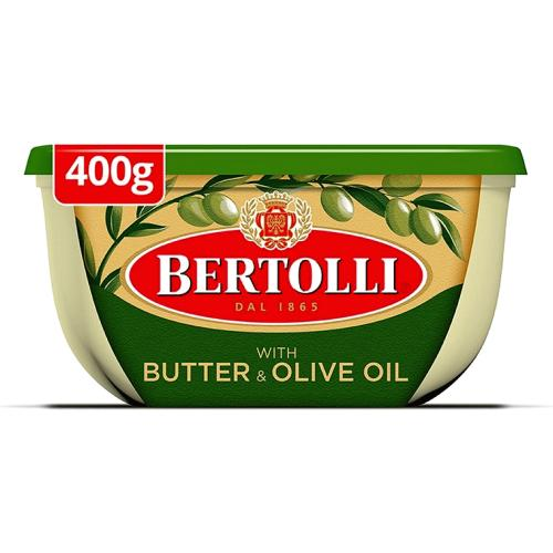 Bertolli Spread With Butter 400g