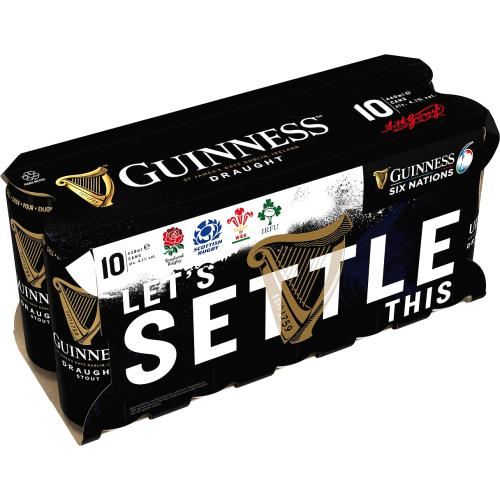 Guinness Draught Can 10x 440ml