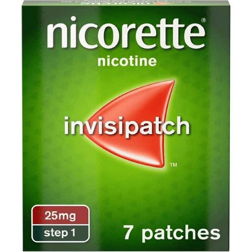 Nicorette InvisiPatch 25mg 7s 7 per pack