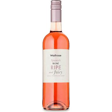 Waitrose Ripe and Juicy Spanish Rose Wine
