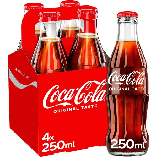 Coca-Cola Original Taste 4x 250ml
