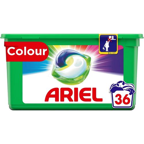 Ariel All In 1 Washing Pods Colour 36 Washes 856.8g