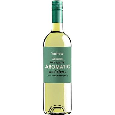 Waitrose Aromatic & Citrus Spanish White Wine