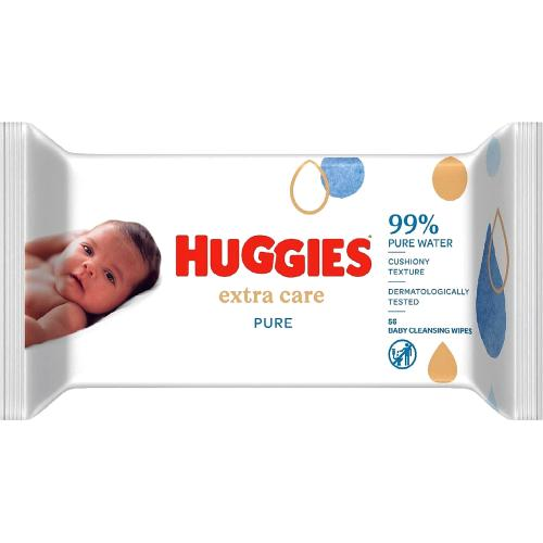 Pure Extra Care Baby Wipes