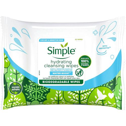 Hydrating Cleansing Wipes 20 Wipes