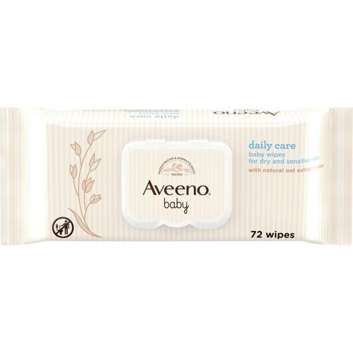 Aveeno Baby Daily Care Baby Wipes 72 Pack
