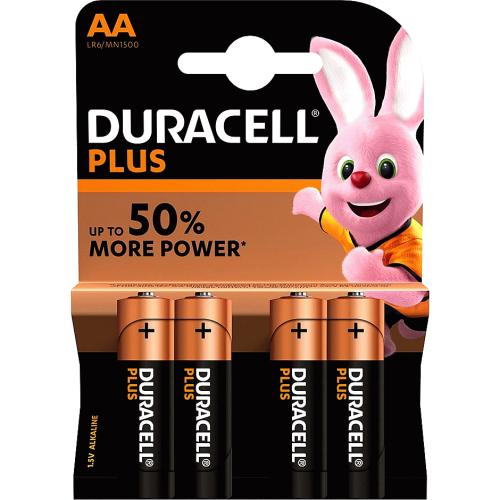 Duracell Plus AA 4 Pack 4 Pack