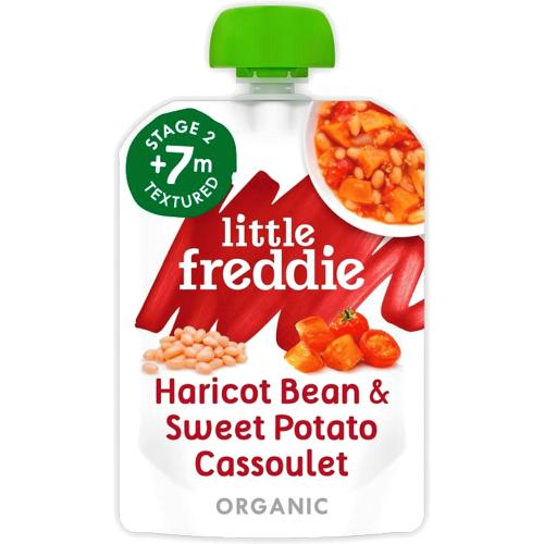 Little Freddie Organic Slow-Cooked Haricot Bean & Sweet Potato Cassoulet Stage 2+ 7 Month