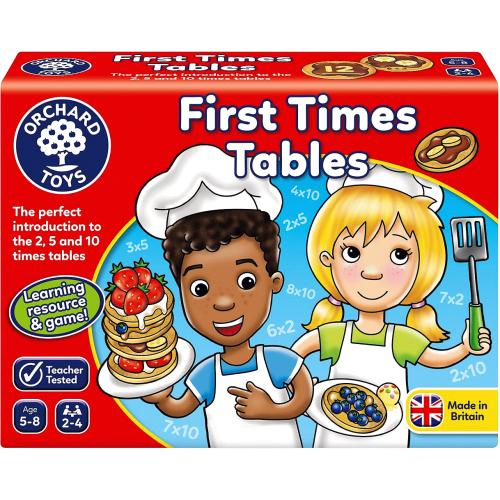 First Times Tables