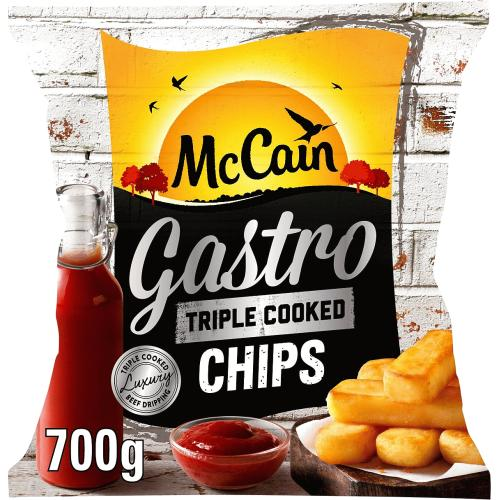 Frozen Triple Cooked Gastro Chips