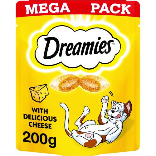 Dreamies Cat Treats - Cheese 200g
