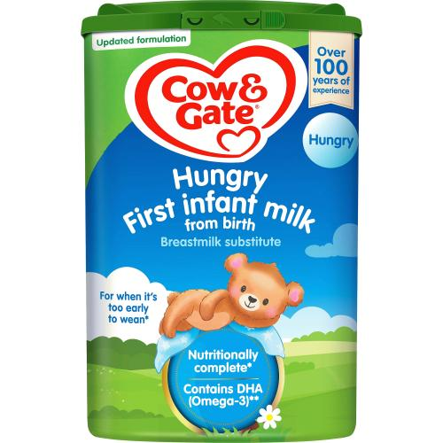Hungry Baby Milk Formula From Birth