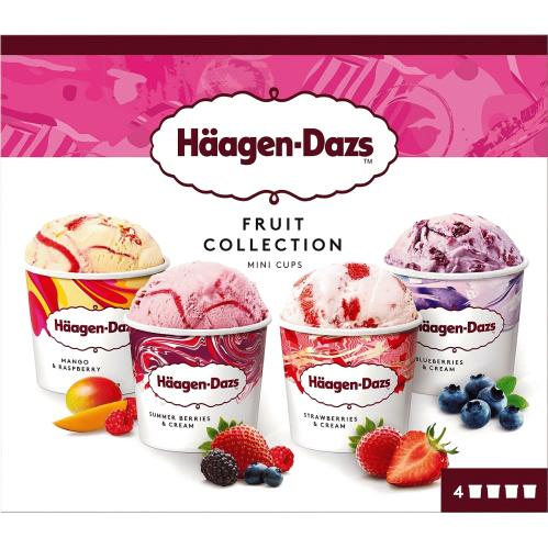 Fruit Minicup Ice Cream Collection