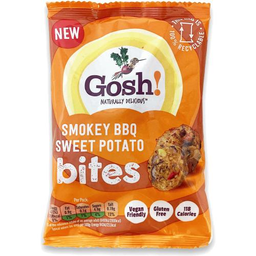 Gosh Smokey BBQ Sweet Potato Bites 56g