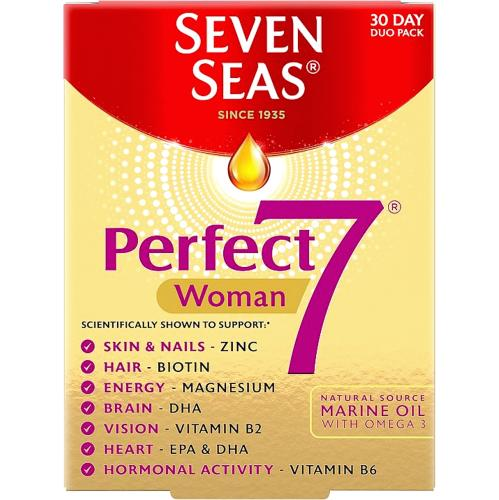 Perfect7 Woman 30 Tablets & Capsules