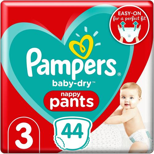 Baby-Dry Size 3 Nappy Pants Essential Pack