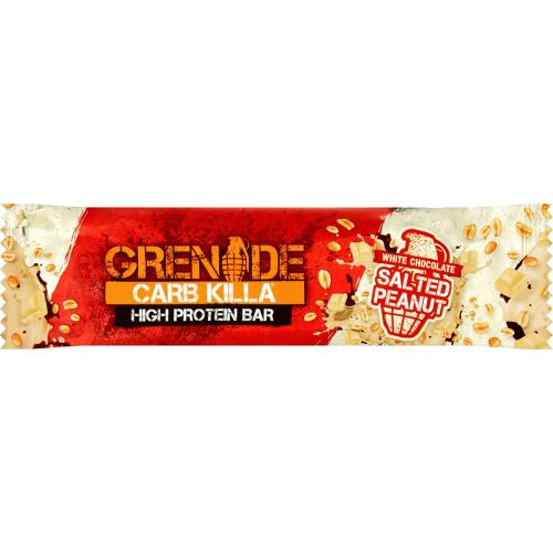 Grenade Carb Killa High Protein Bar White Chocolate Salted Peanut (60g)