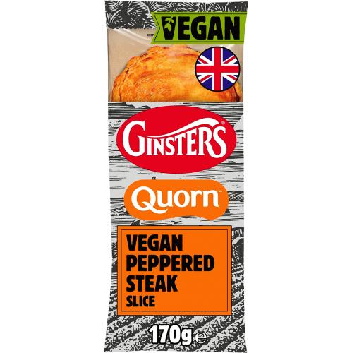 Ginster Quorn Pepper Steak Slice 170g